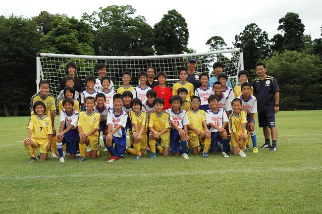 FC君津さんと練習マッチ(高学年チーム)