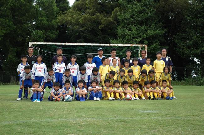 FC君津さんと練習マッチ(中学年チーム)