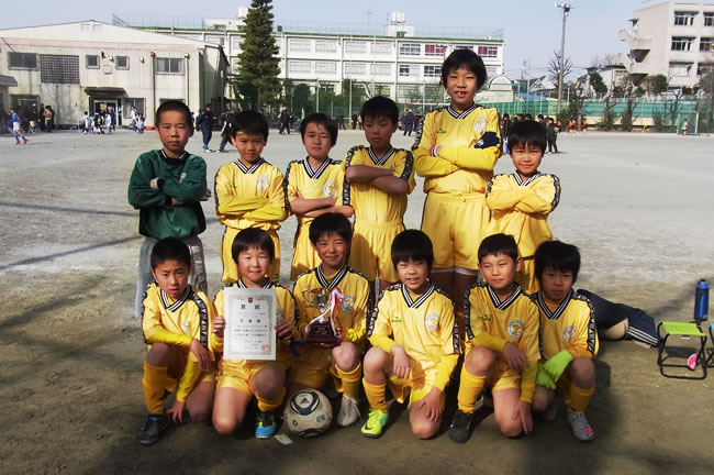 2011豊島区中学年リーグ戦準優勝のレギュラーチーム