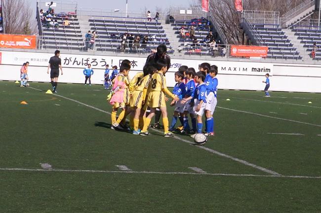 17~24位決定戦の決勝戦VS高井戸FC
