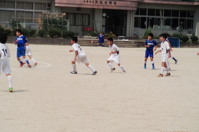 星稜ジュニア(石川県金沢市)と練習ゲーム
