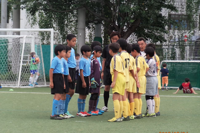 決勝トーナメント1回戦 VS池袋FC