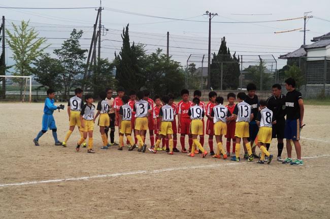 ⑤ 予選グループ最終戦 対吉川FC(福井県)2-1接戦を制した