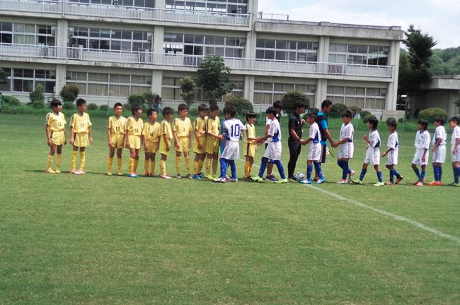 ⑦ 2位トーナメント1回戦VS宇山サッカークラブ(大阪府)先制されながらも追加点を与えず粘り強く戦い後半に追いつきPK戦にもちこむが、、、。