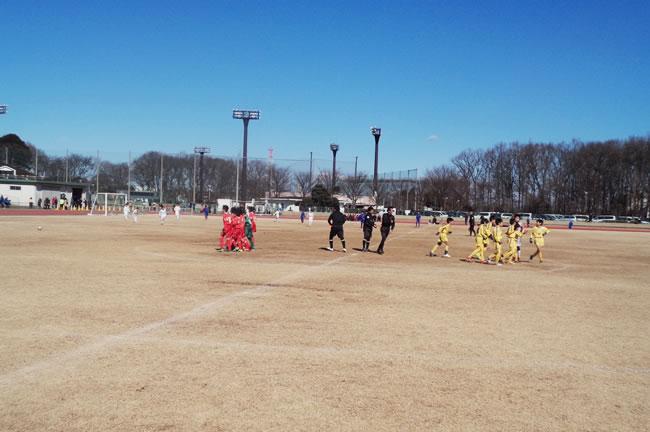 決勝T1回戦 対北坂戸サッカークラブ