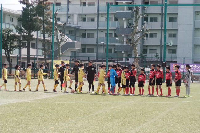 決勝リーグ 対豊島少年