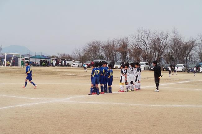 2位ブロック決勝T1回戦 対シーガルFC.Jr(香川)