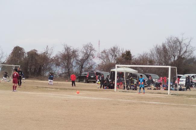 2位ブロック決勝T2回戦 対窪田FC(愛媛)
