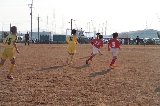 予選リーグ最終戦 VS箕面西(大阪)2-0