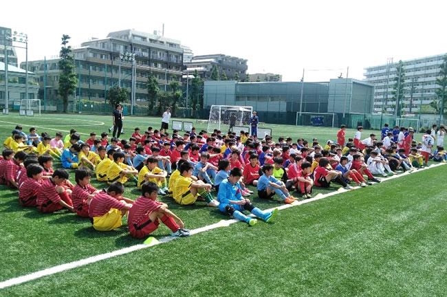 5・6年生の部の開会式