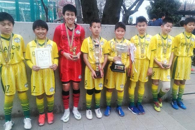 東京都中央大会2回出場というクラブの新しい歴史を作った6年生たち。
