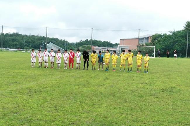 予選グループリーグ最終戦は愛知の名門、刈谷SS