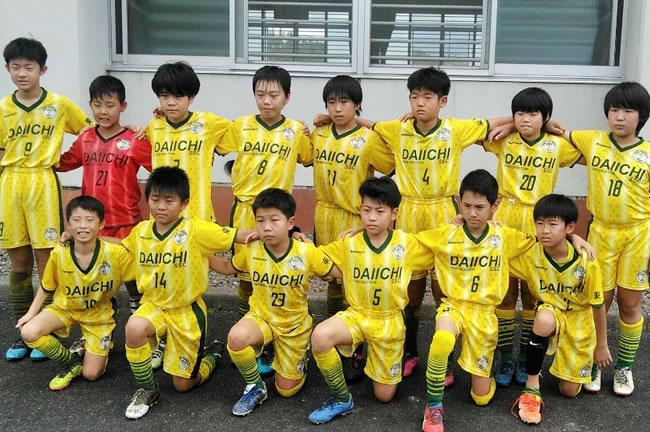中日本少年親善大会の遠征参加メンバー